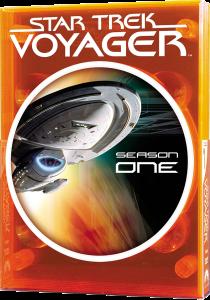"""""""Star Trek Voyager"""" - season 1 DVD cover."""