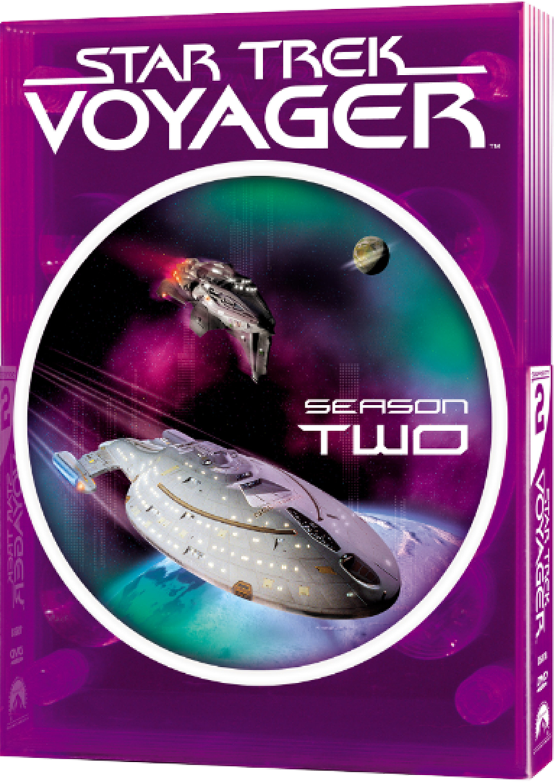 """Star Trek Voyager"" - season 2 DVD set."
