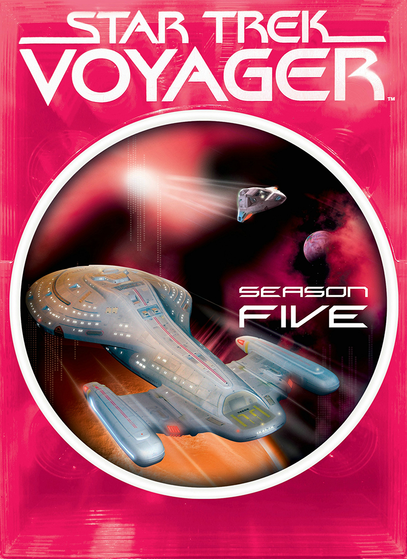 """Star Trek Voyager"" - season 5."