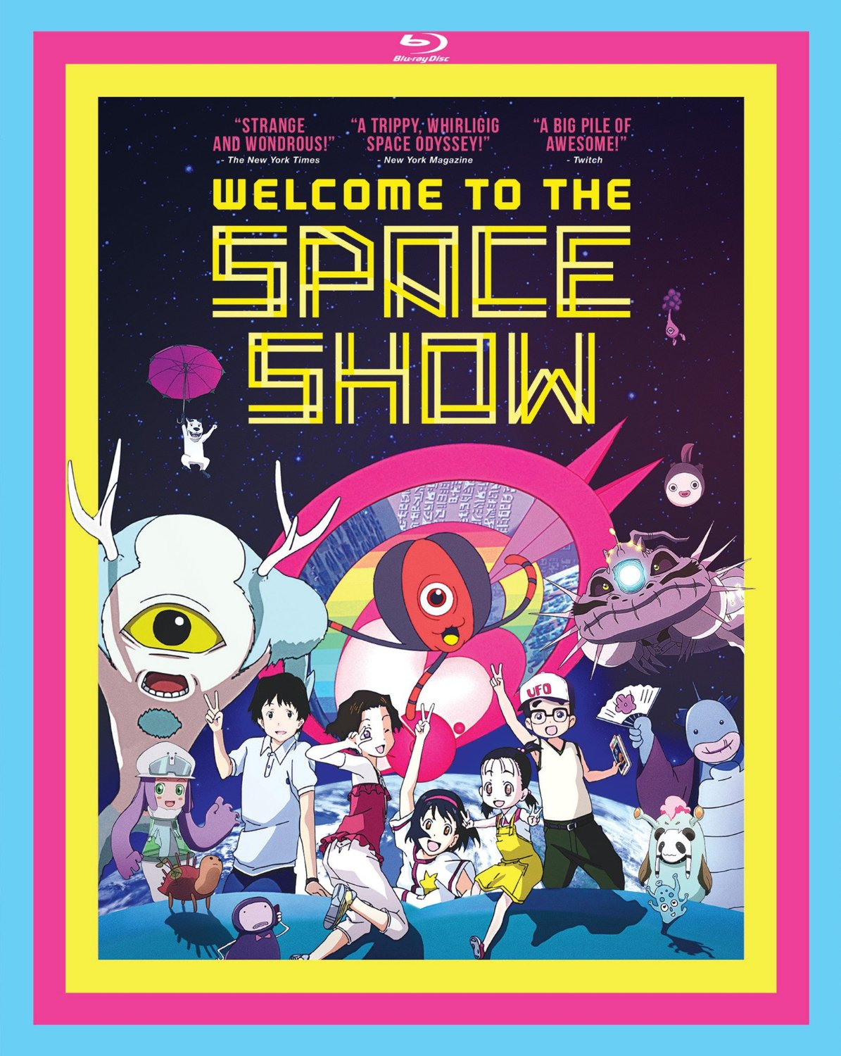 Welcome to the Space Show Bluray cover