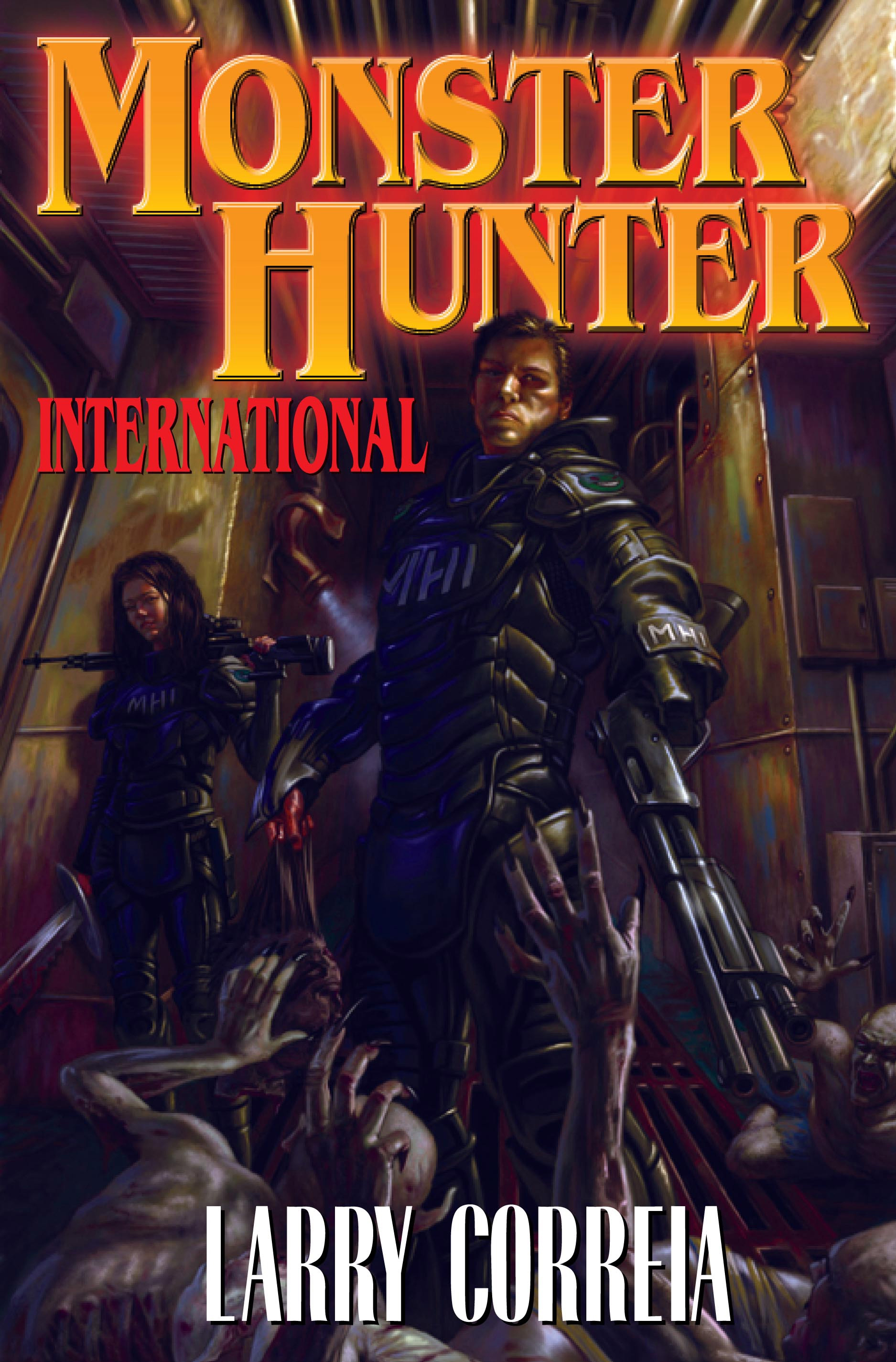 """Monster Hunter International"" by Larry Correia."