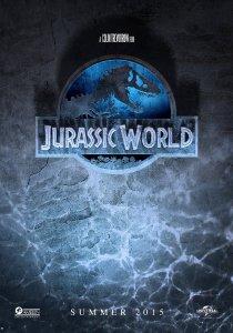 "Theatrical teaser poster for ""Jurassic World""."