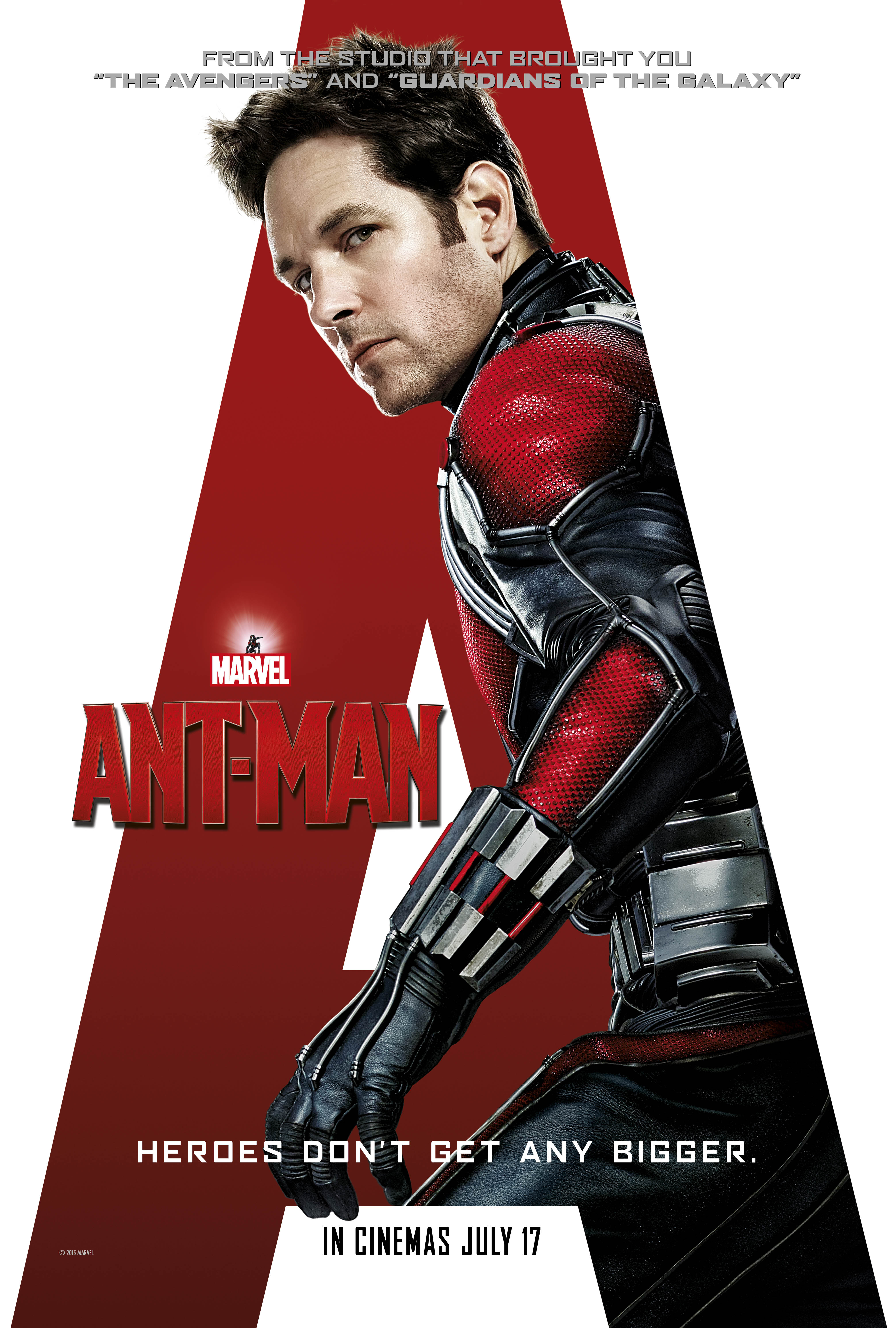 Ant-Man theatrical poster