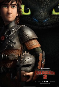 """How to Train Your Dragon 2"" theatrical teaser poster."