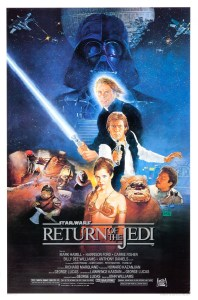 """Return of the Jedi"" theatrical teaser poster."