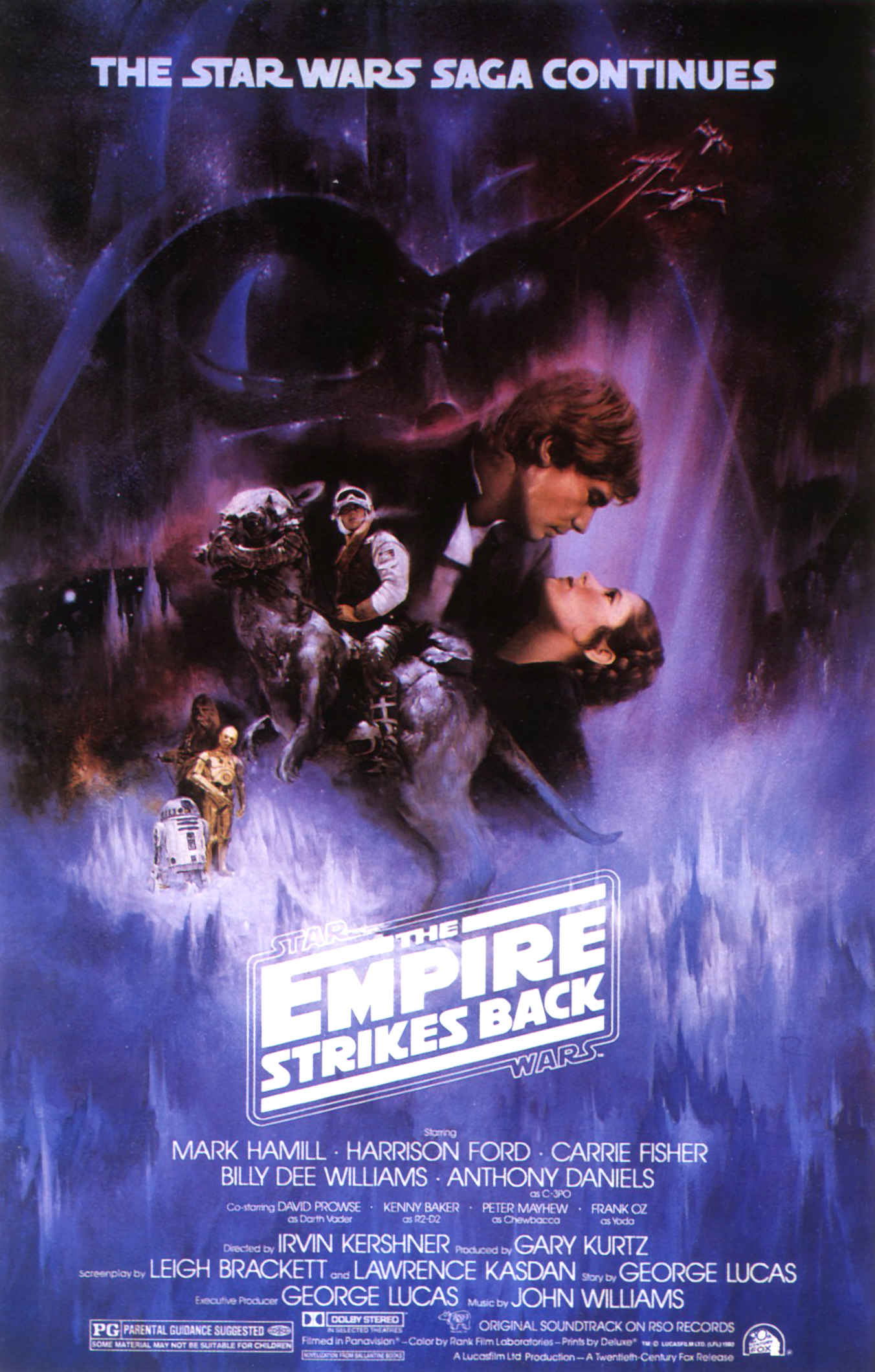 """The Empire Strikes Back"" theatrical poster."