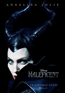 "Theatrical teaser poster for ""Maleficent""."