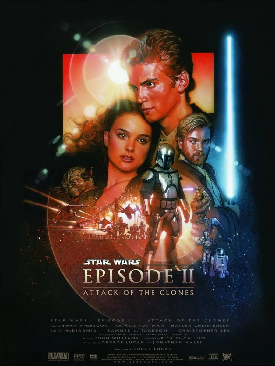 Star Wars Episode II - Attack of the Clones - film review