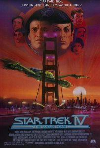 """Star Trek IV - The Voyage Home"" theatrical poster."