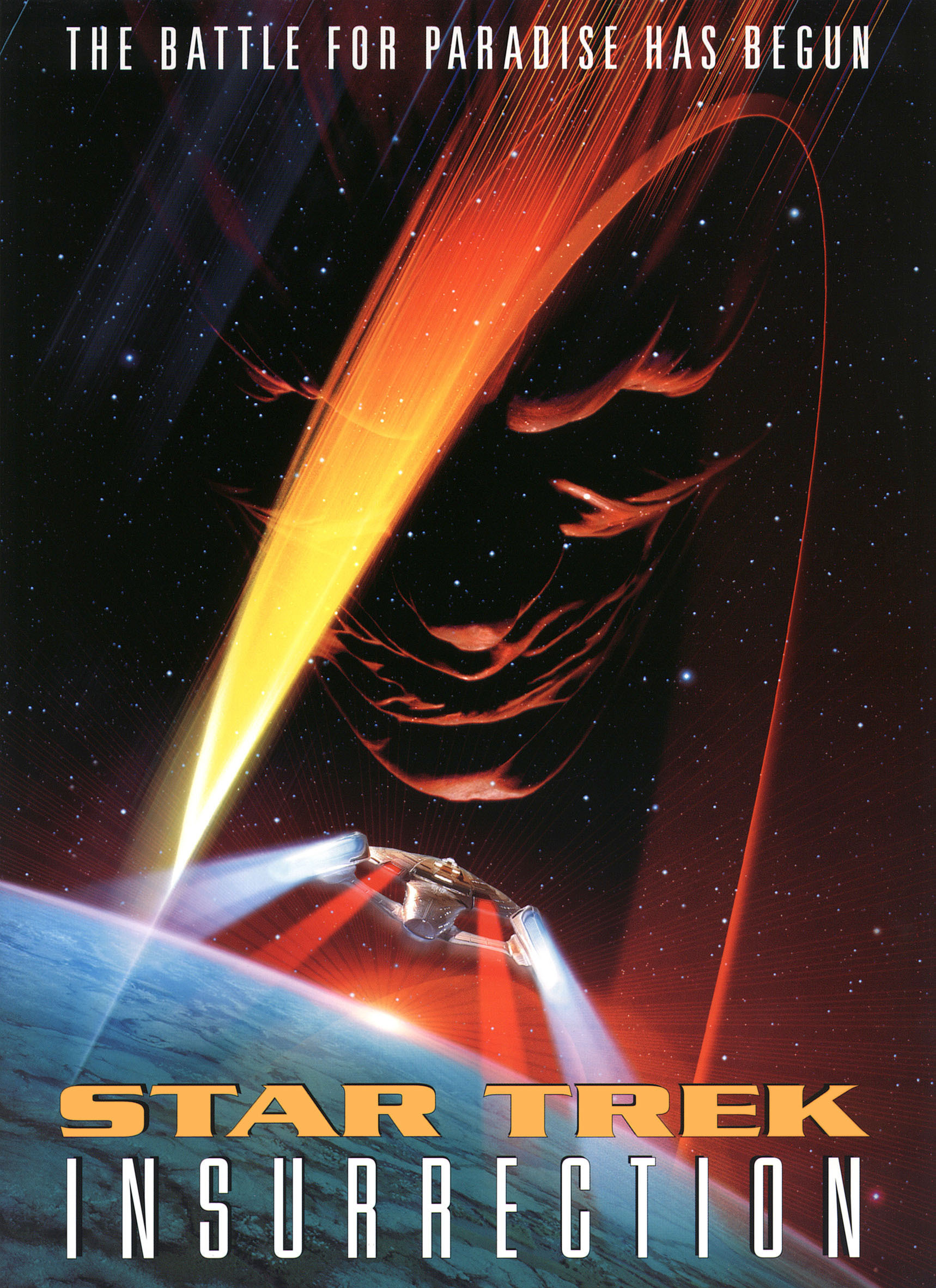 """Star Trek Insurrection"" poster."