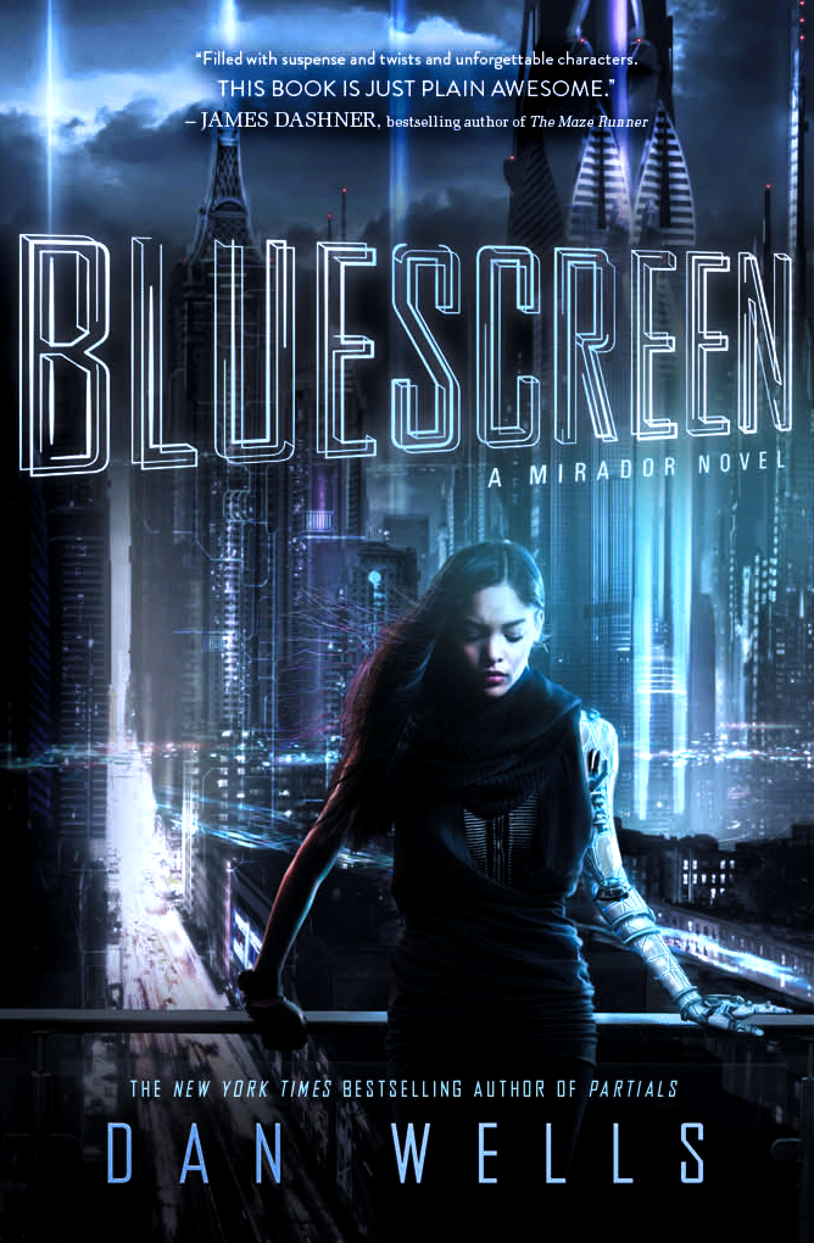 """Bluescreen"" by Dan Wells."