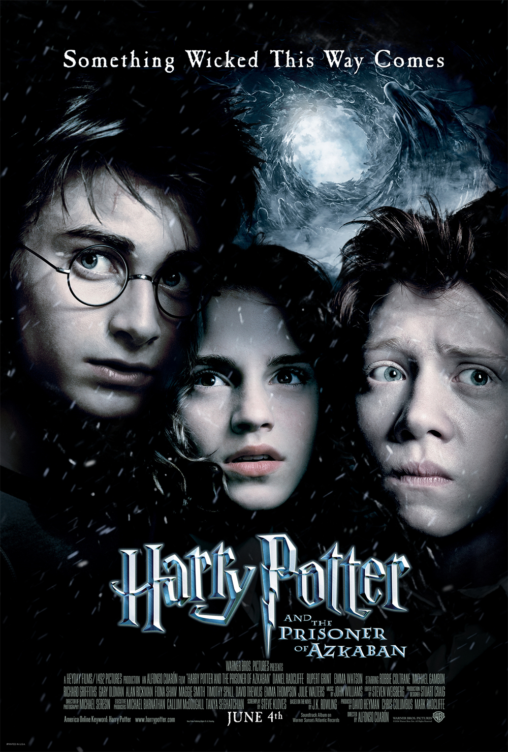 """Harry Potter and the Prisoner of Azkaban"" theatrical teaser poster."