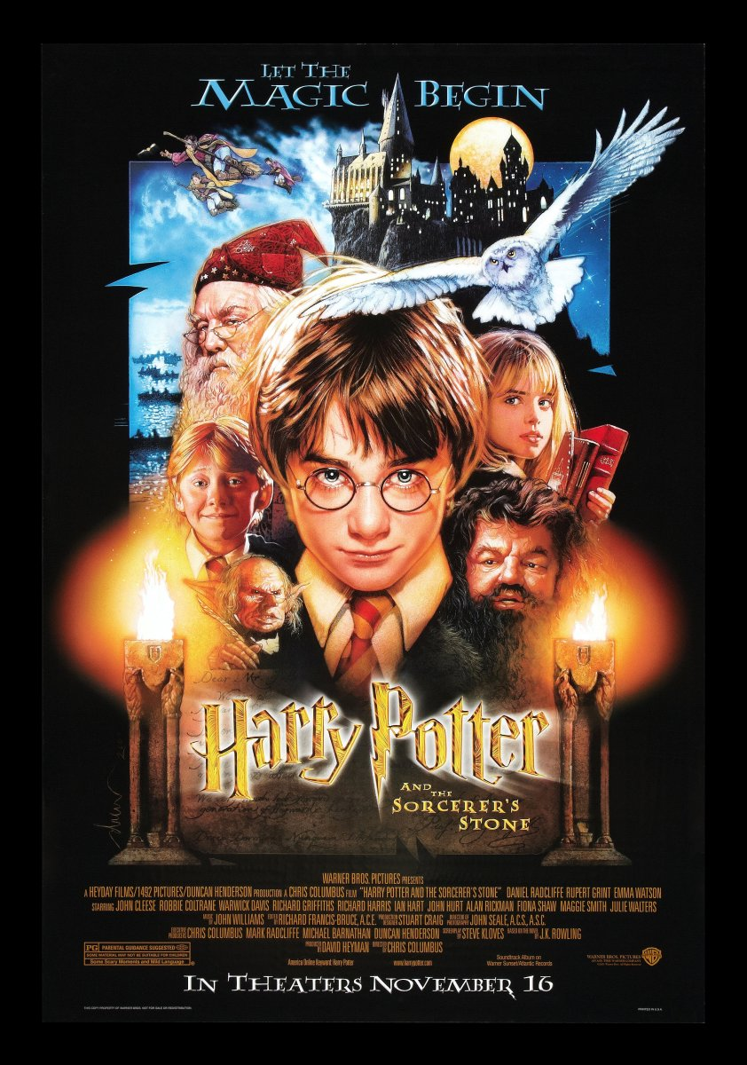 Harry Potter and the Sorcerer's Stone - film review