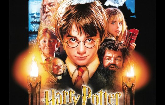"""Harry Potter and the Sorcerer's Stone"" theatrical teaser poster."