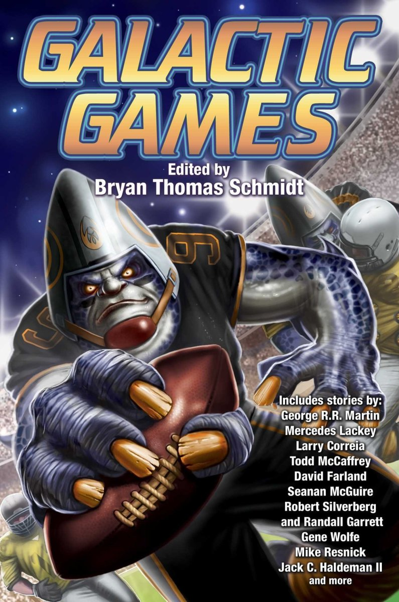 Galactic Games - edited by Bryan Thomas Schmidt - anthology review