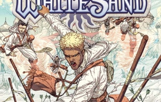 White Sand Volume 1 by Brandon Sanderson, Rik Hoskin, and Julius Gopez - graphic novel review
