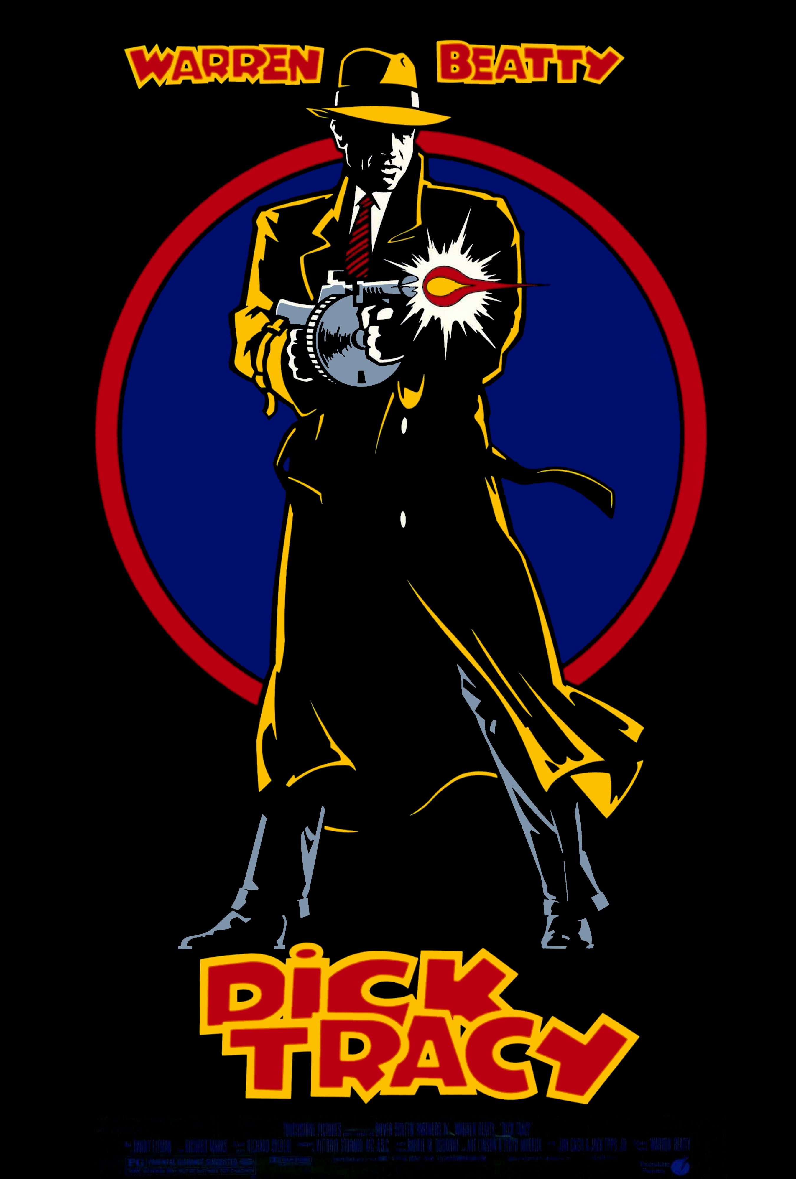 """Dick Tracy"" theatrical teaser poster."