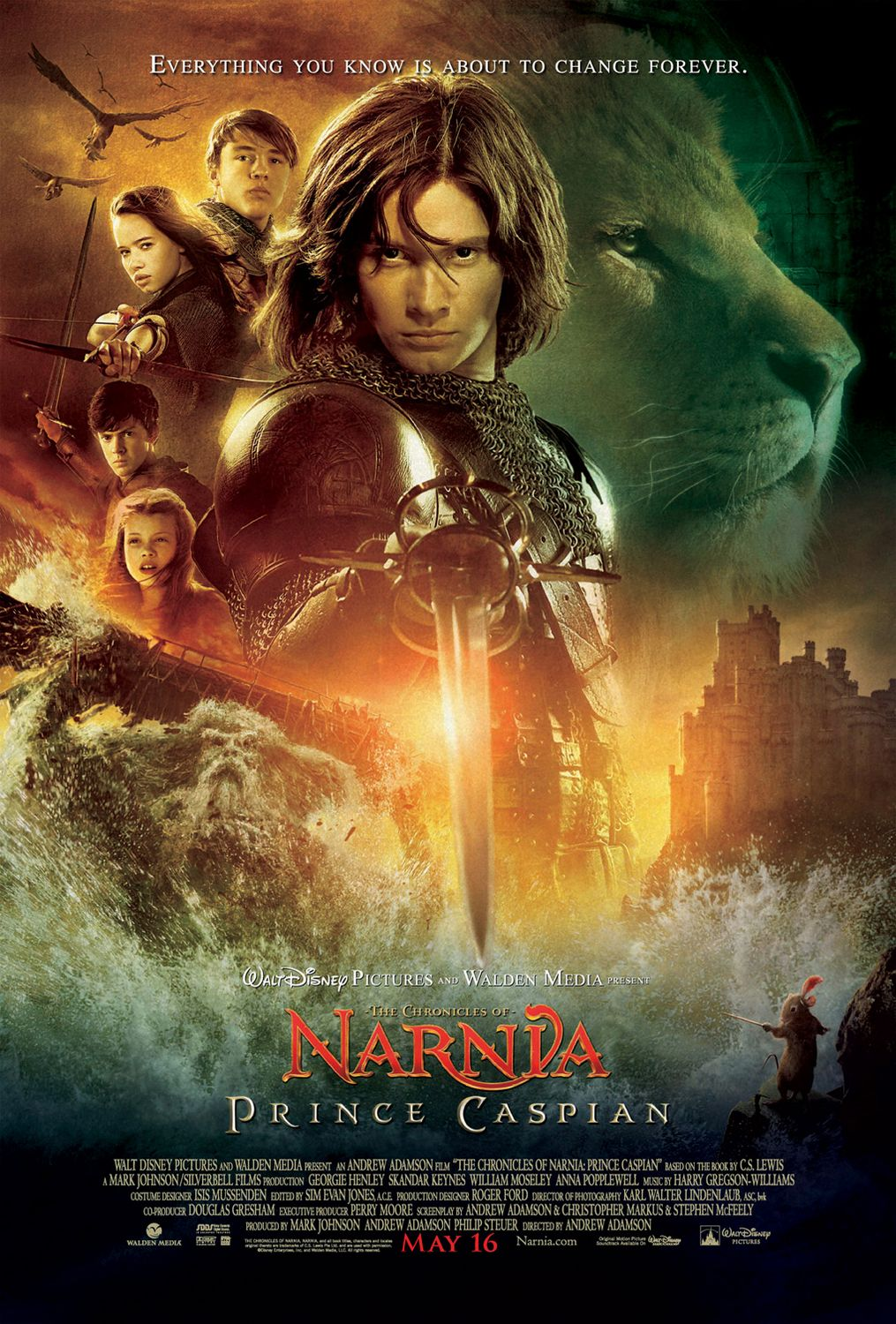 """Prince Caspian"" theatrical teaser poster."