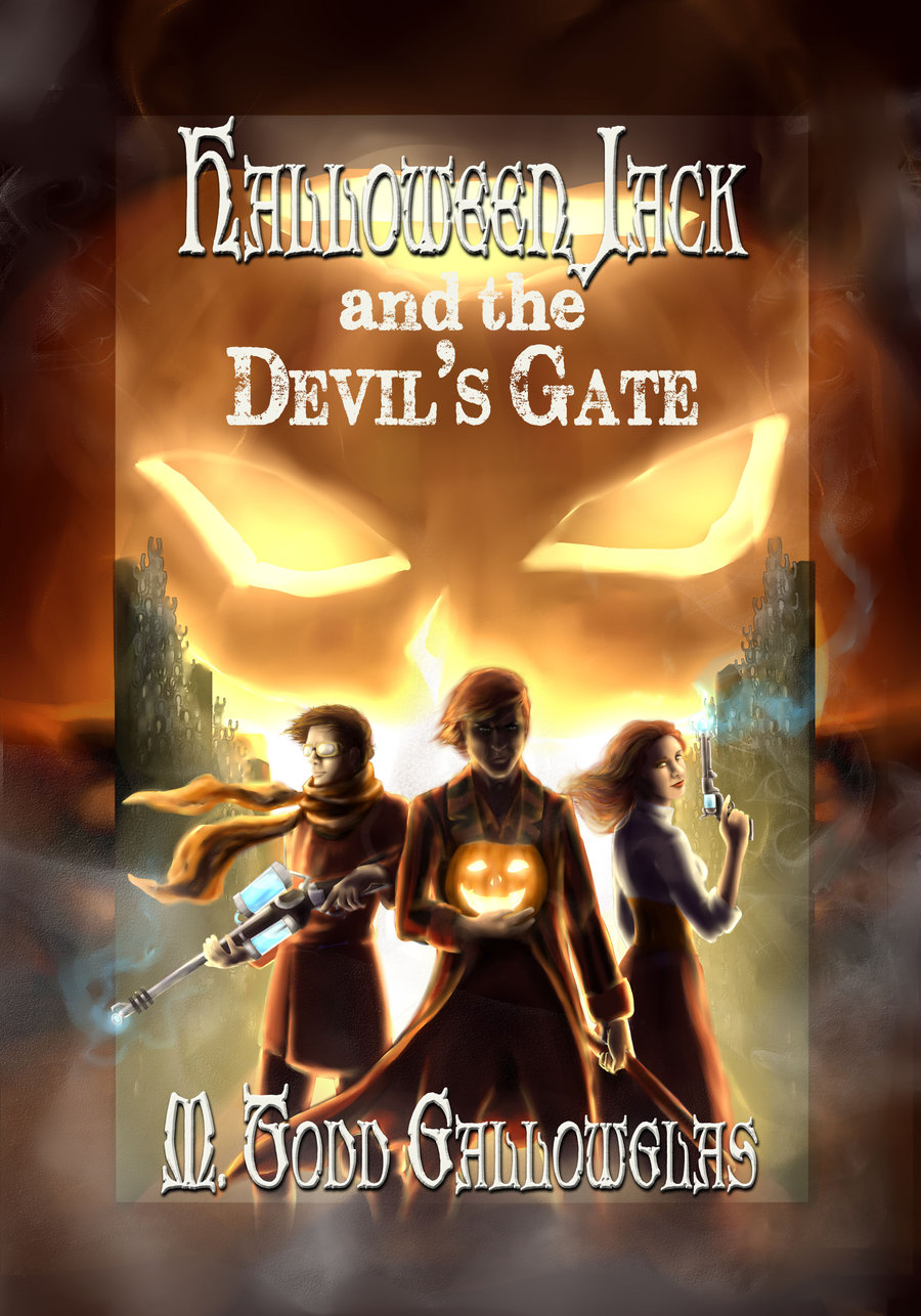 """""""Halloween Jack and the Devil's Gate"""" by M. Todd Gallowglas."""