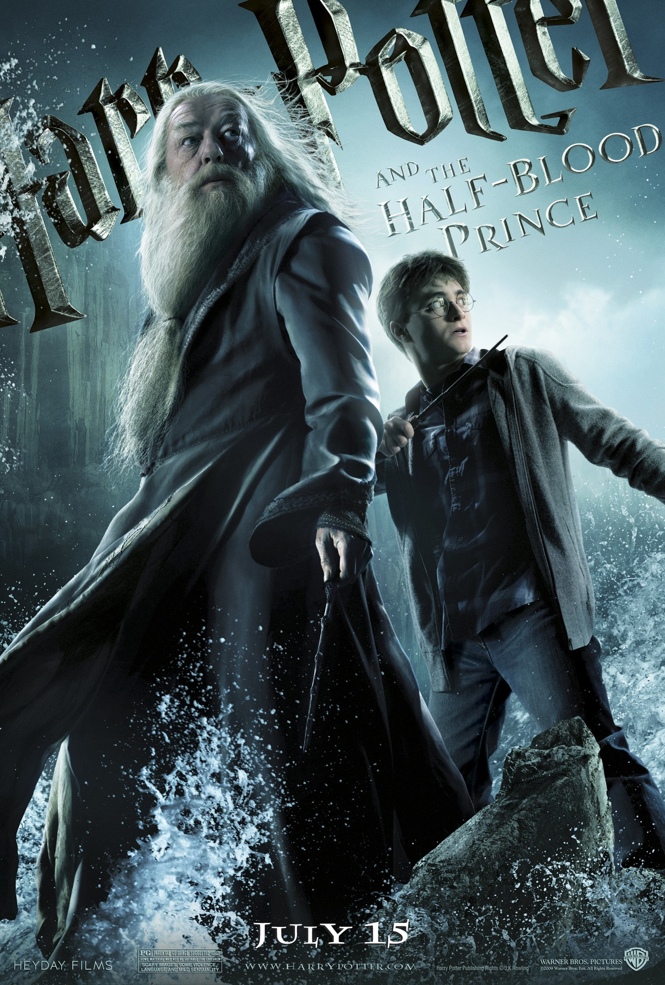 """""""Harry Potter and the Half-Blood Prince"""" theatrical teaser poster."""