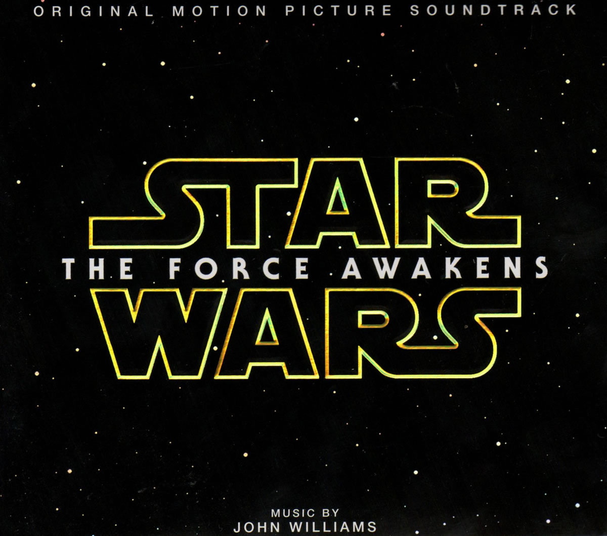 """""""Star Wars - The Force Awakens Original Motion Picture Soundtrack"""" by John Williams."""