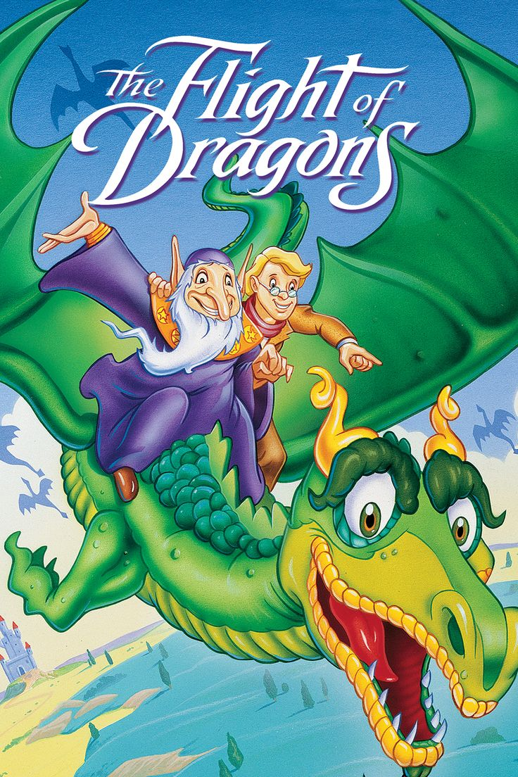 """""""The Flight of Dragons"""" DVD cover."""