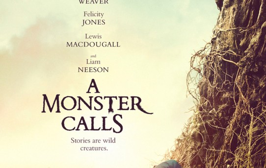 """A Monster Calls"" theatrical teaser poster."