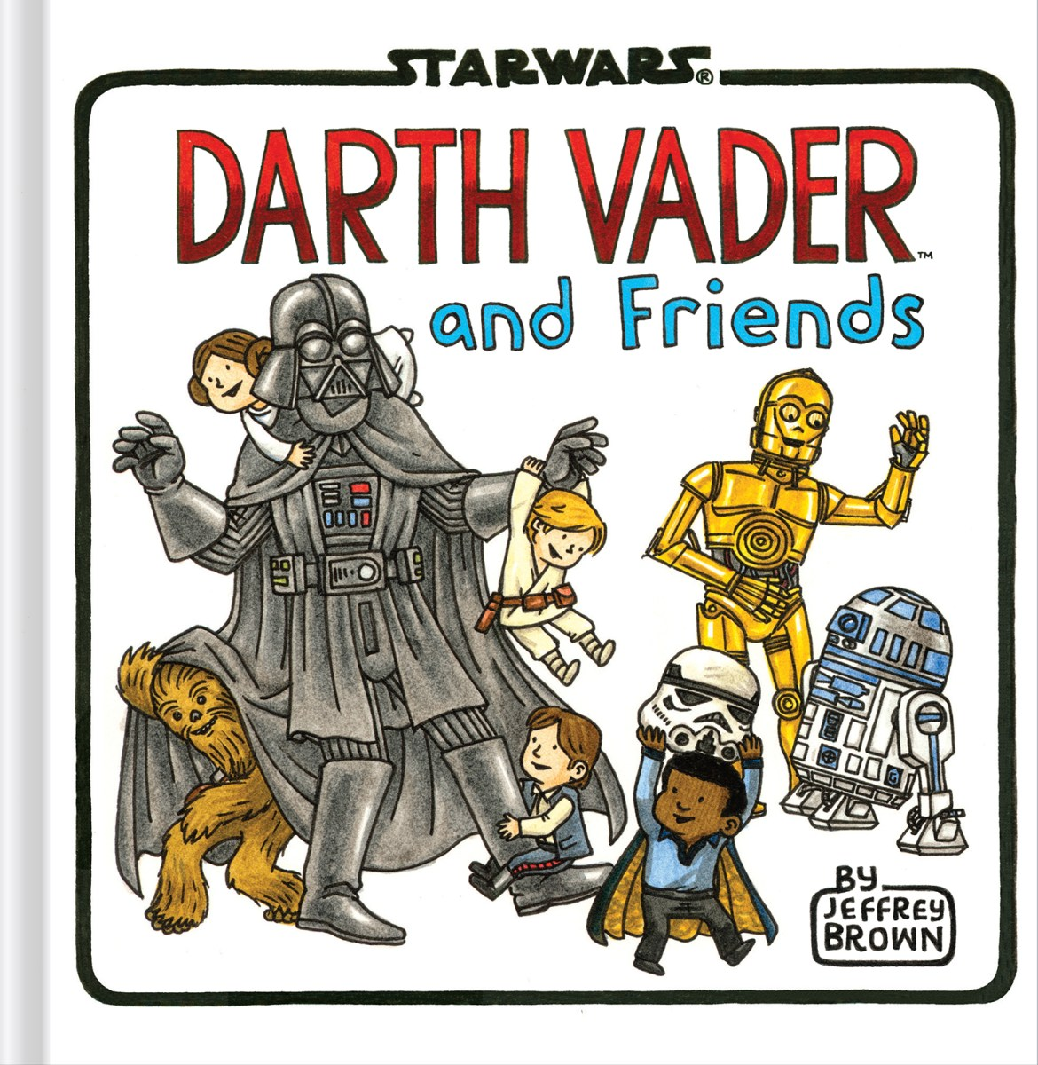 Darth Vader and Friends by Jeffrey Brown - picture book review