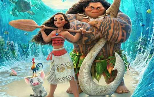"""Moana"" theatrical teaser poster."