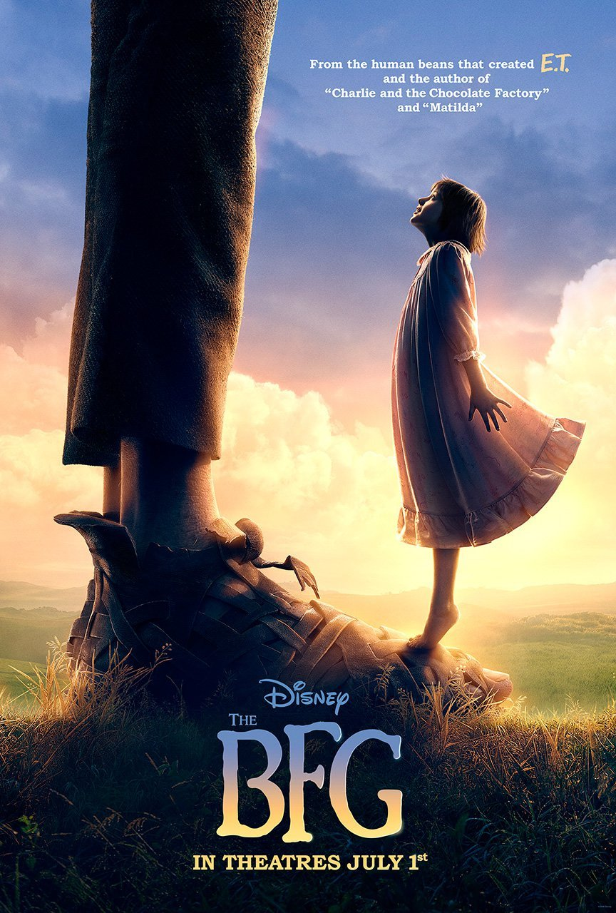 """The BFG"" theatrical teaser poster."