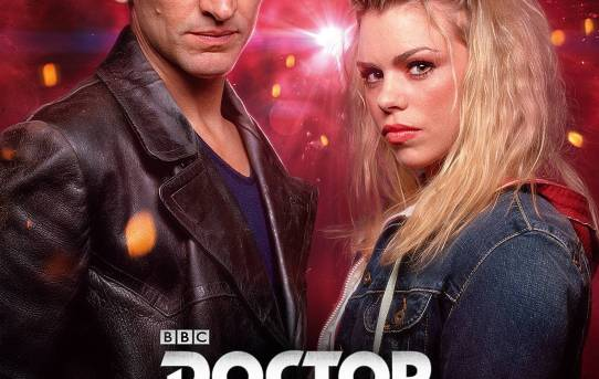 """Doctor Who Series 1"" poster."