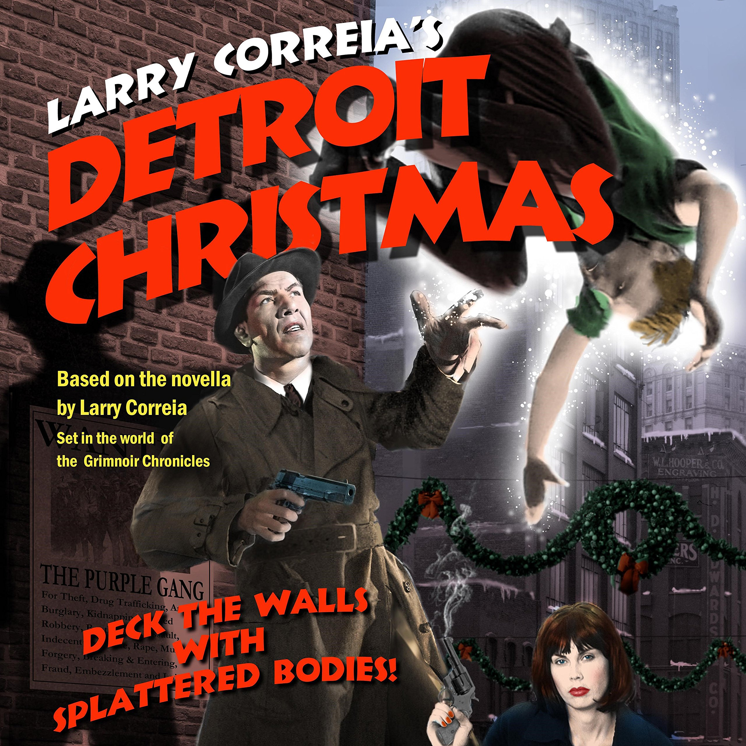 """Detroit Christmas"" by Larry Correia audiobook."