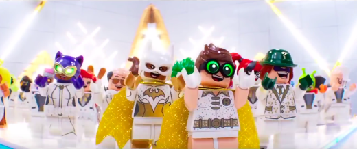 """The LEGO Batman Movie"" music video."