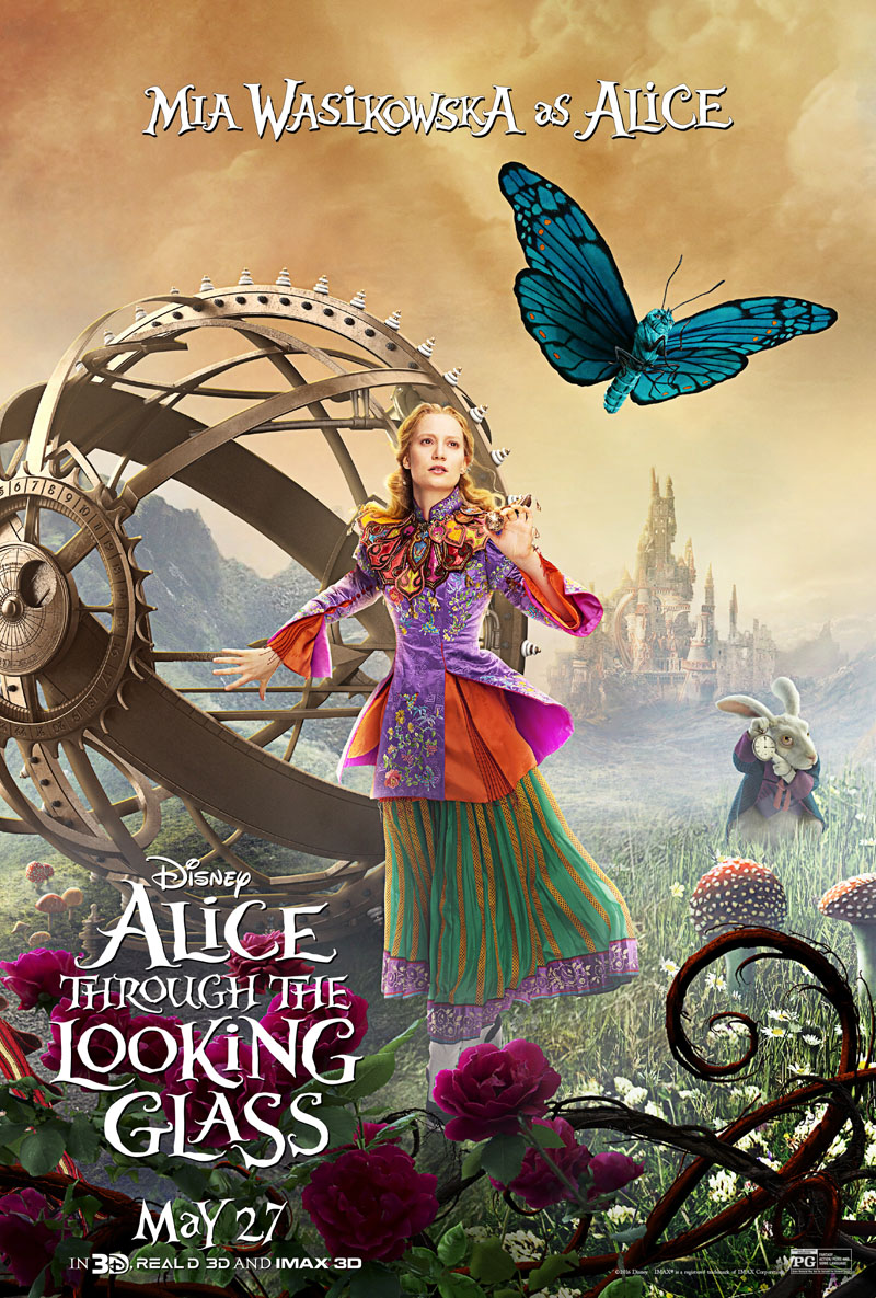 Alice Through the Looking Glass - film review