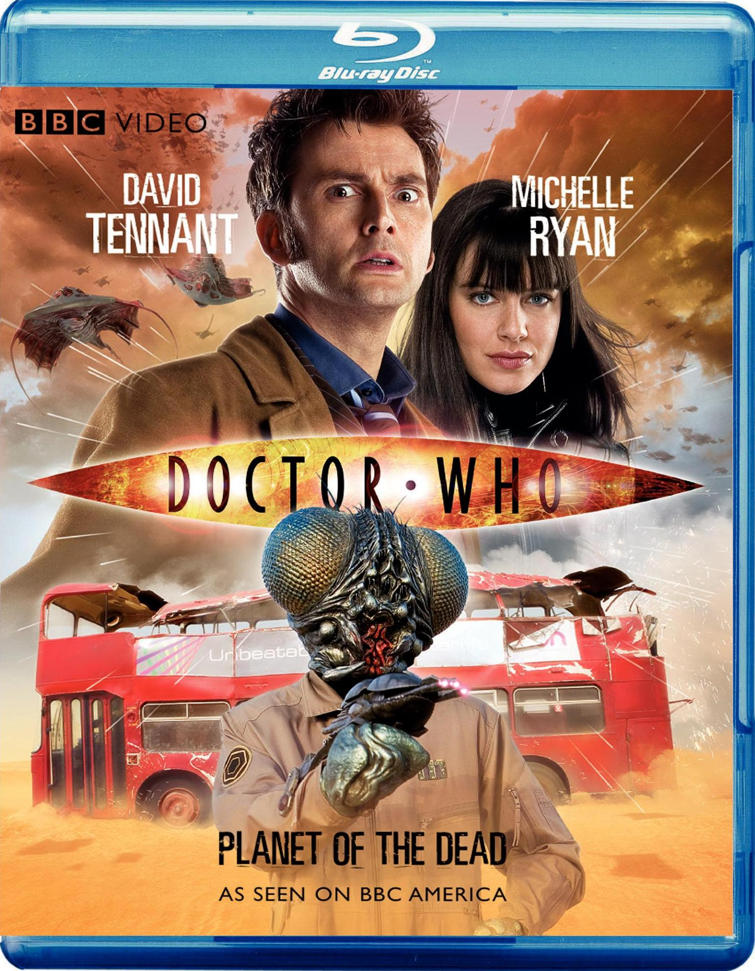 """""""Doctor Who - Planet of the Dead"""" bluray."""