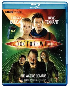 """""""Doctor Who - The Waters of Mars"""" bluray."""