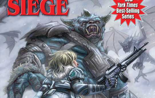 "Cover of ""Monster Hunter Siege"" by Larry Correia."