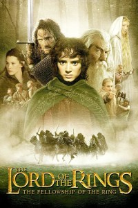 """The Lord of the Rings - The Fellowship of the Ring"" theatrical teaser poster."