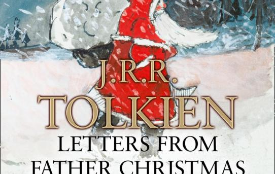 """Letters from Father Christmas"" by J.R.R. Tolkien - audiobook cover."