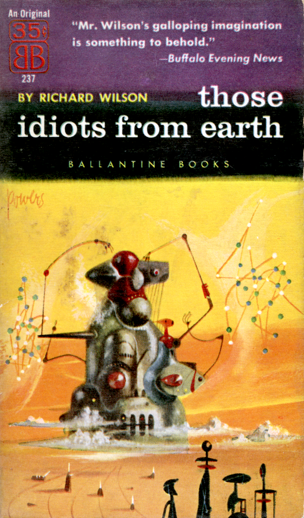 """Those Idiots from Earth"" by Richard Wilson"