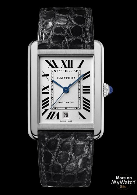 Watch Cartier Tank Solo Mod    le extra large   Tank Solo W5200027     Tank Solo Mod    le extra large