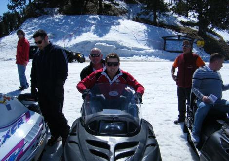 Snow Motorbikes LGTB Holiday in Andorra