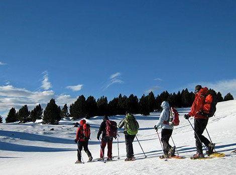 Snow Shoes Winter Trekking Andorra