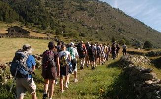 Hüttentour Andorra Wandern
