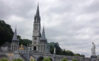 Lourdes Cathedral France