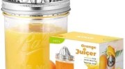 Lemon Juicer - Glass Jar Lid