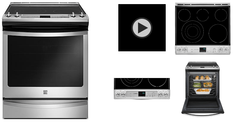 Kenmore Flat Top Convection Stove / Oven