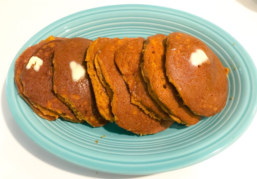 Fall Is Upon Us - Pumpkin Pancakes 2