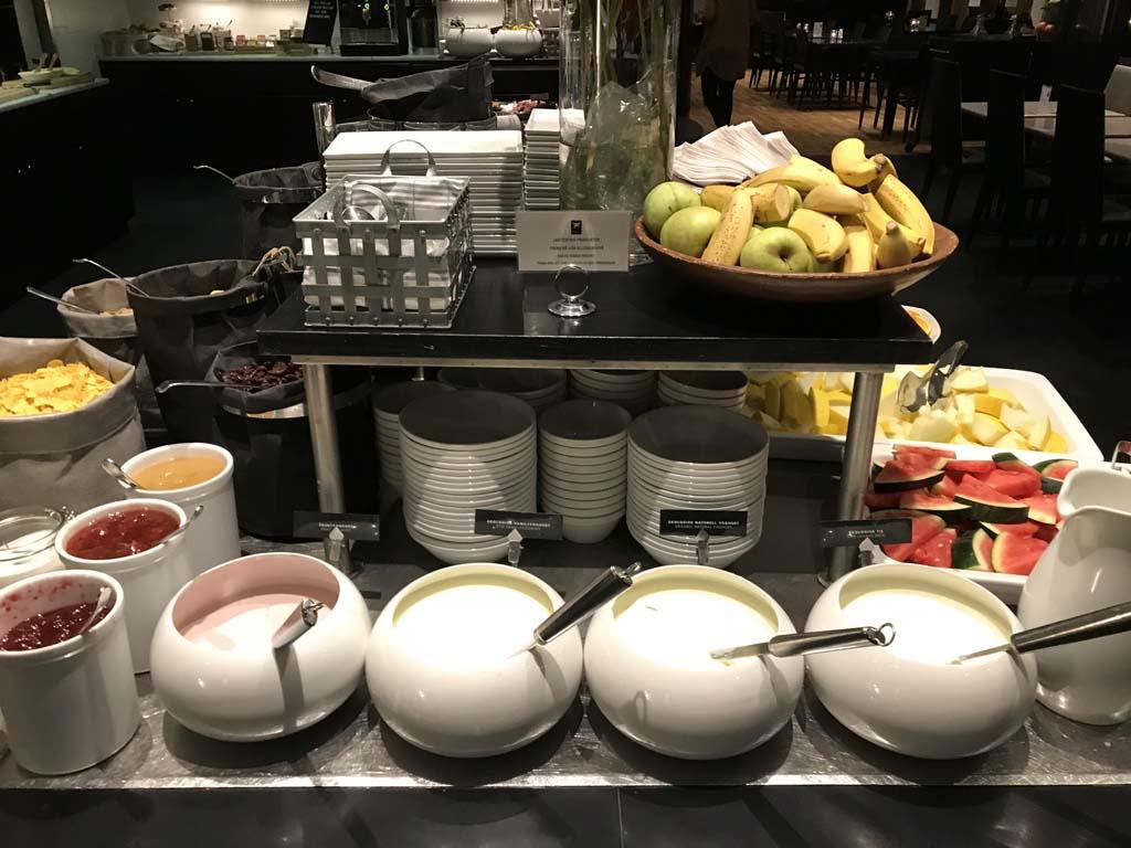 Breakfast at a Hotel in Gothenburg, Sweden