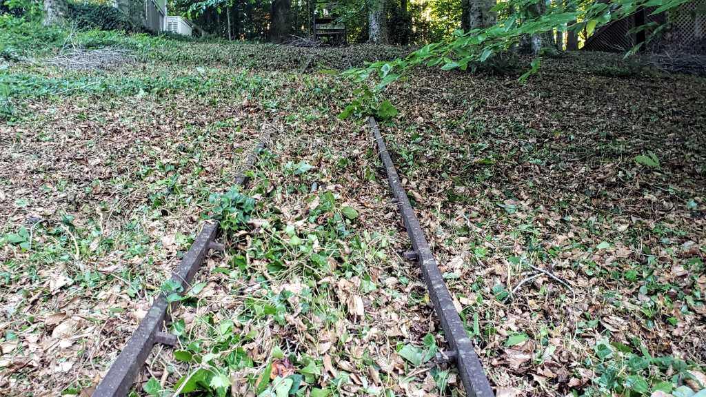 Hill Cart Rail Road rails